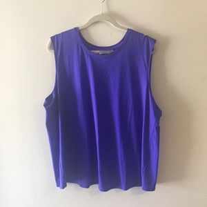 Athleta sunlover tank blue. 1X